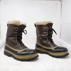 SALE! SOREL CARIBOU WATERPROOF Snow Boots Size 11